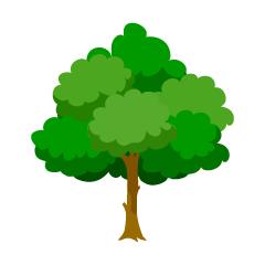 """タイ語で""""木""""はなんていうのでしょうか。"""